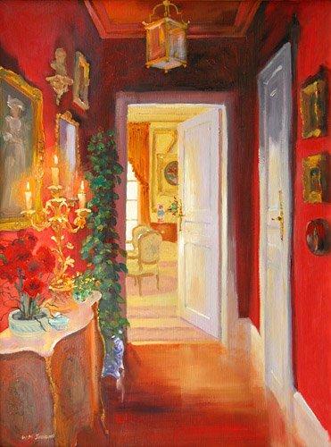 moderne-gemaelde - Candelabra, 2003 - Ireland, William