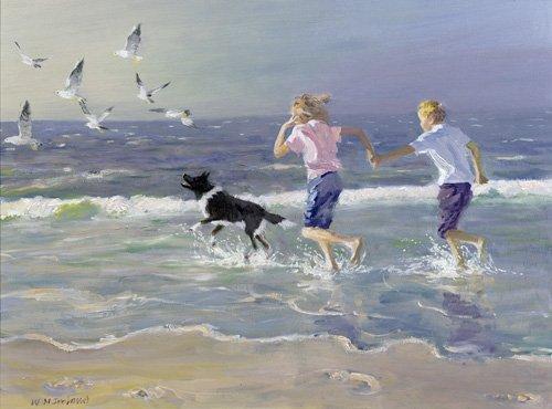 moderne-gemaelde - The Chase - Ireland, William