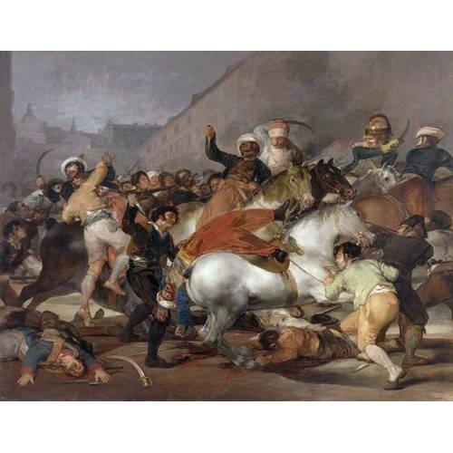 El 2 de mayo de 1808, la carga de los Mamelucos