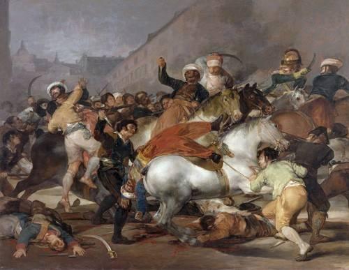 portraetgemaelde - El 2 de mayo de 1808, la carga de los Mamelucos - Goya y Lucientes, Francisco de
