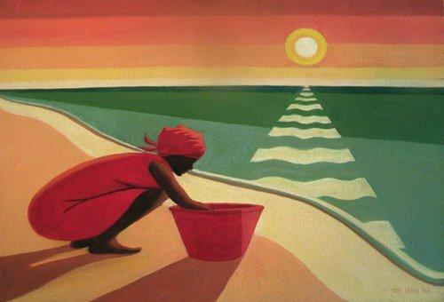 orientalische-gemaelde - Evening Calm, 2003 - Willis, Tilly