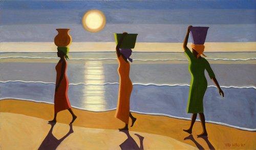 orientalische-gemaelde - By the Beach, 2007 - Willis, Tilly