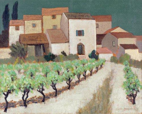 bilder-fuer-ein-wohnzimmer - Vineyard, Provence - Hains, Eric