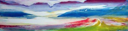 abstrakte-gemaelde - Abstrakte Komposition - Gibbs, Lou