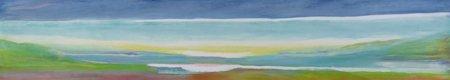 abstrakte-gemaelde - Direkt über dem Meeresspiegel, 2004 - Gibbs, Lou
