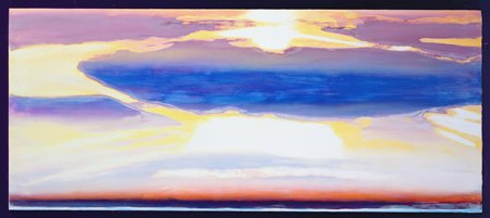 abstrakte-gemaelde - Himmelslandschaft - Gibbs, Lou