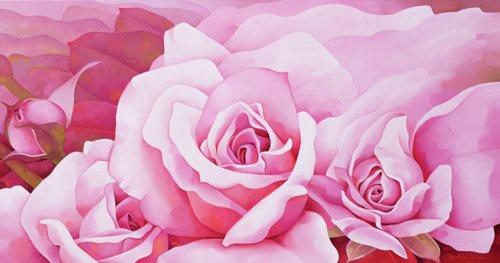 blumen-und-pflanzen - The Roses, 2003 - Sim, Myung-Bo