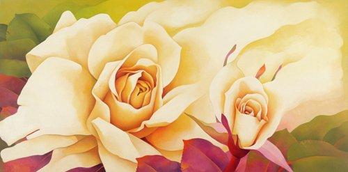 blumen-und-pflanzen - The Rose, 2001 - Sim, Myung-Bo