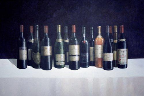 moderne-gemaelde - Winescape, 1998 - Seligman, Lincoln