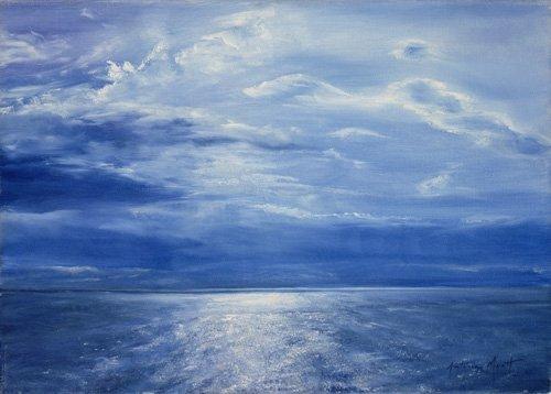 seelandschaft - Deep Blue Sea, 2001 - Myatt, Antonia