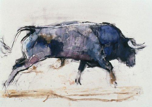 bilder-fuer-ein-wohnzimmer - Charging Bull, 1998 - Adlington, Mark