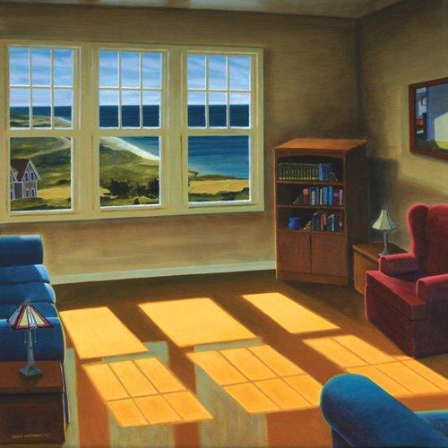 landschaften-gemaelde - Wohnung am Meer, 2006 - Arsenault, David
