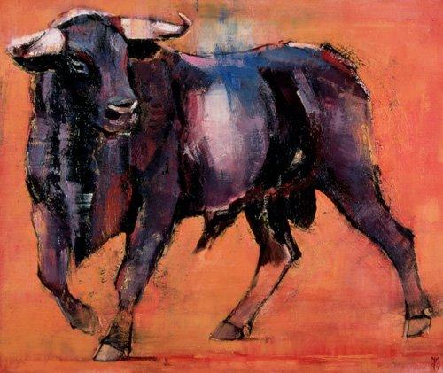 bilder-fuer-ein-wohnzimmer - Alcurrucen, 1999 (oil on canvas) - Adlington, Mark
