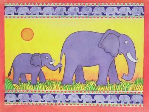 kinderzimmer - Elephants - Baxter, Cathy