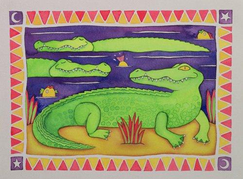 kinderzimmer - Crocodiles - Baxter, Cathy