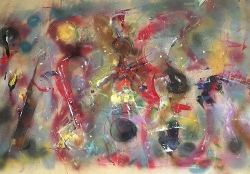 abstrakte-gemaelde - Instrumental - Beckford, Ikahl