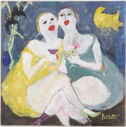 moderne-gemaelde - Freitag Nacht Mädchen, 2007 - Bower, Susan