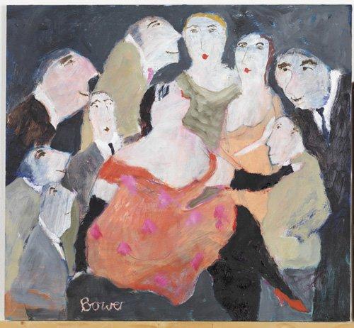moderne-gemaelde - Sieh mich an, 2009 - Bower, Susan