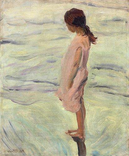 seelandschaft - Après le coucher du soleil, 1907 - Sorolla, Joaquin