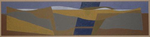 abstrakte-gemaelde - Poundbury Landscape, 1997 - Dannatt, George