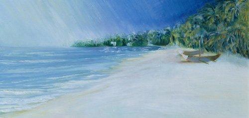 seelandschaft - Coco Beach, Goa, India, 1997 - Elliot, Sophia