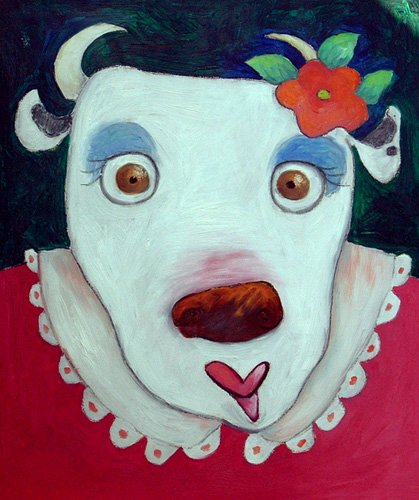 kinderzimmer - Silly Cow (oil on canvas) - Christie, Maylee