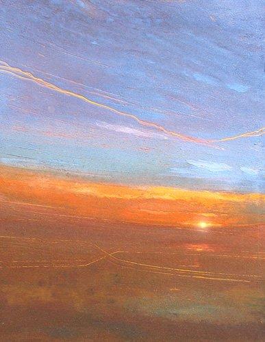 moderne-gemaelde - Sonnenuntergang, 2007 - Decent, Martin
