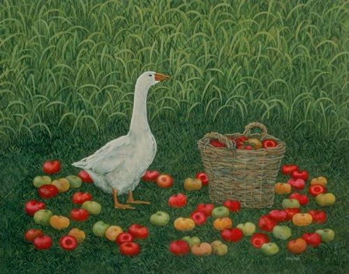 moderne-gemaelde - The Apple Basket - Ditz