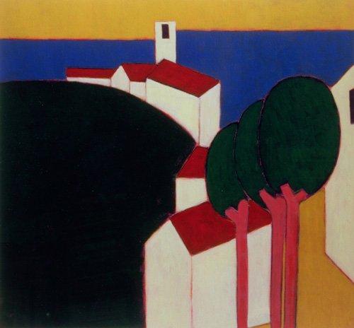 moderne-gemaelde - Im Luberon, 2000 - Donne, Eithne