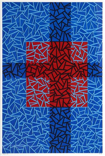abstrakte-gemaelde - Infinity Pool - Dunn, Alex