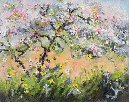 seelandschaft - Spring Blossom - Durham, Anne