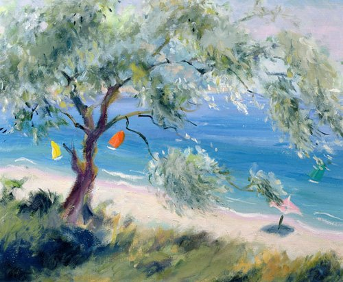 seelandschaft - Looking on to a beach - Durham, Anne