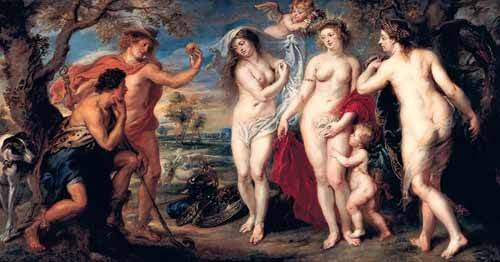 portraetgemaelde - Juicio de Paris - Rubens, Peter Paulus