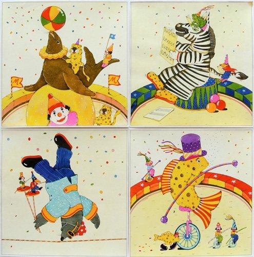 kinderzimmer - Animal Circus II - Kaempf, Christian