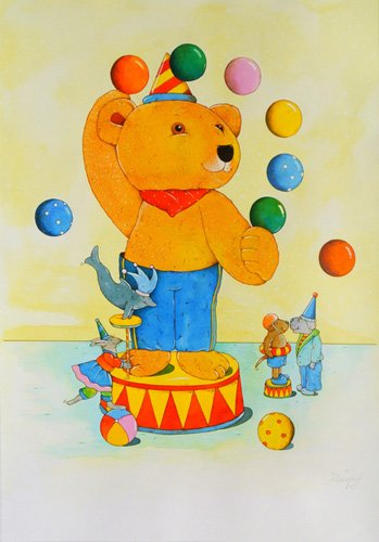 kinderzimmer - Circus - Kaempf, Christian