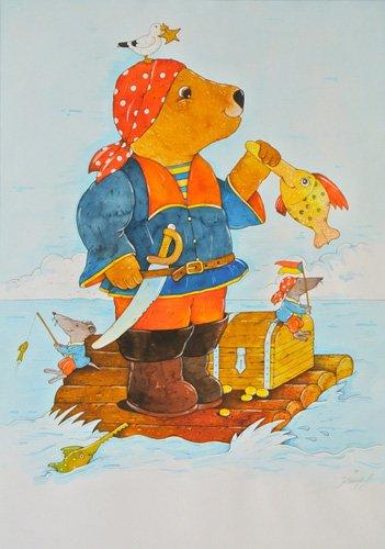 kinderzimmer - Pirate - Kaempf, Christian