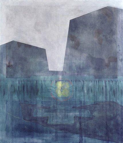 abstrakte-gemaelde - Selassie-Monolithen, 1998 - Millar, Charlie