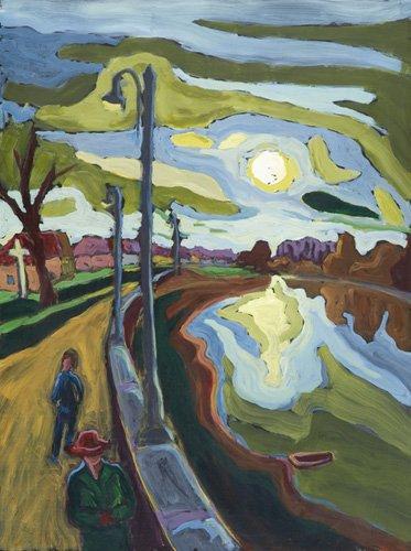 landschaften-gemaelde - Koros-Bank Evenings, 2008 - Martonfi-Benke, Marta
