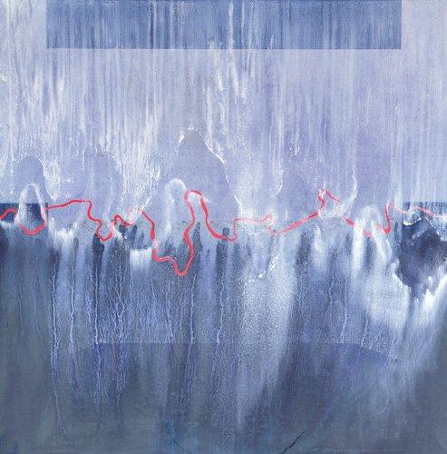 abstrakte-gemaelde - Great Bear and Pleaides (oil on linen) - Millar, Charlie