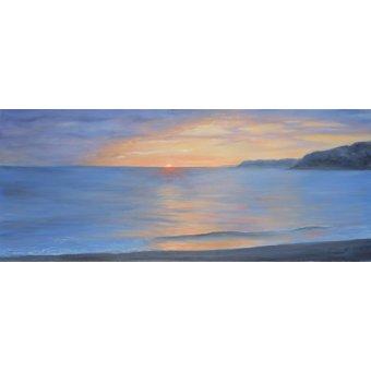 Landschaften Gemälde - The Last Wave, 2001 (oil on canvas) - Myatt, Antonia