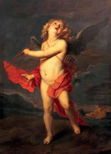 portraetgemaelde - El amor vencedor del universo - Van Dyck, Anton