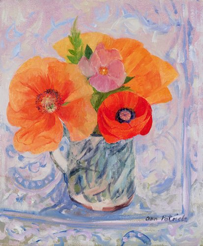 blumen-und-pflanzen - The Red Poppy, 2000 - Patrick, Ann