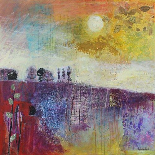 moderne-gemaelde - Hot Summer Sun - Paul, Sylvia