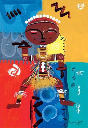 orientalische-gemaelde - Ashanti, 2004 - Perrin, Oglafa Ebitari