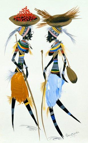 orientalische-gemaelde - Black Models, 2008 - Perrin, Oglafa Ebitari