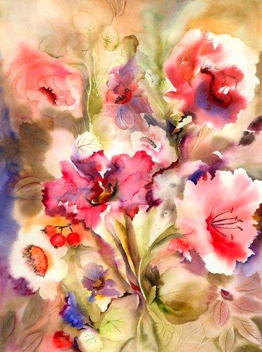 tableaux-pour-hall - just lily - Pushparaj, Neela
