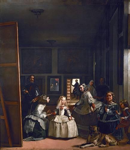 portraetgemaelde - Las meninas, familia de Felipe IV - Velazquez, Diego de Silva