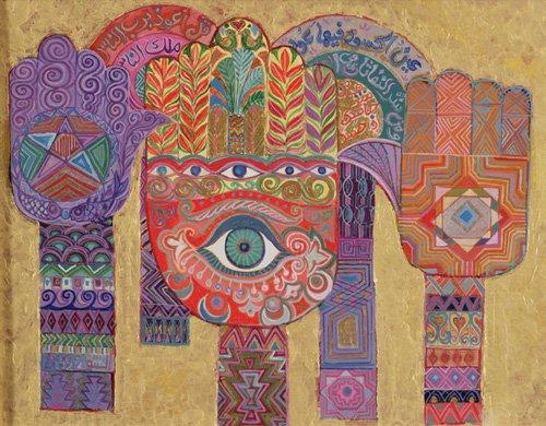 orientalische-gemaelde - Protective Amulets, 1992 - Shawa, Laila