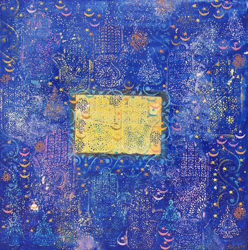 orientalische-gemaelde - Night of Destiny, 1990 - Shawa, Laila