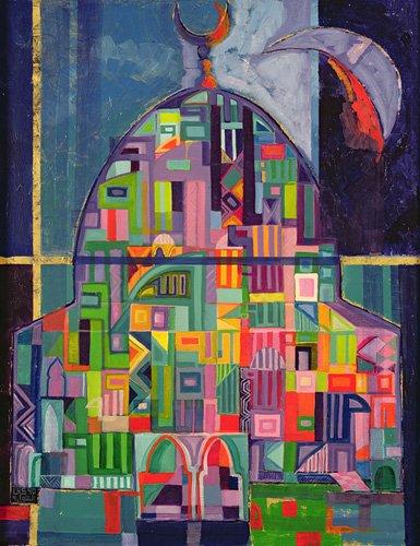 orientalische-gemaelde - The House of God, 1993-94 - Shawa, Laila